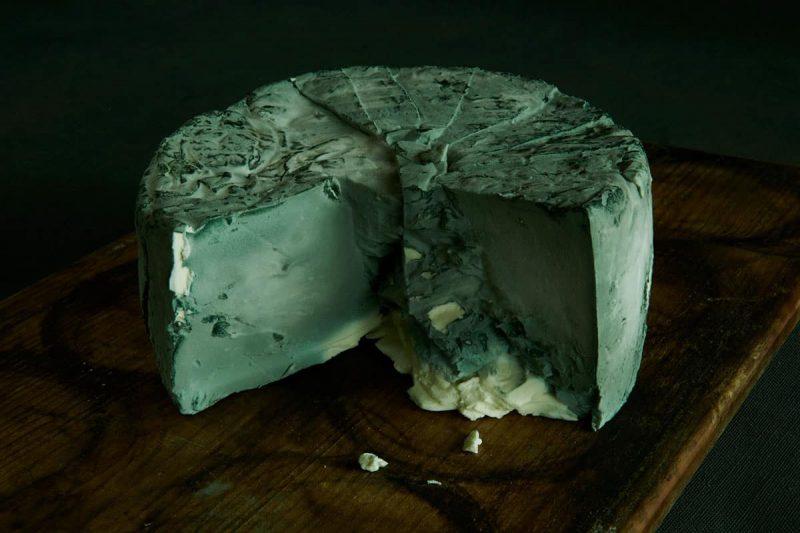 Käse Blauer Büffel von Willi Schmid, Städtlichäsi Lichtensteig, Toggenburg