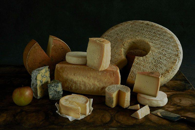 Das Käsesortiment von Willi Schmid, Städtlichäsi Lichtensteig, Toggenburg